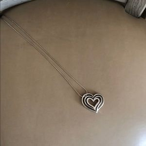 Brighton Long Heart Necklace